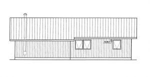 Ostseite - Badezimmer und Schlafzimmer